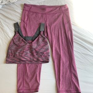 Pink Aeropostale Athletic Set